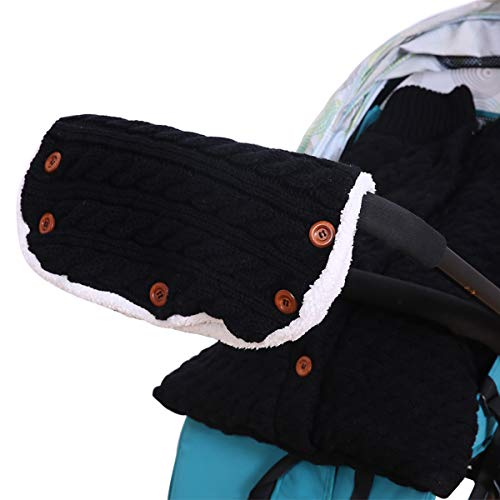 Amazon.com: 2PCS Baby Fleece Blanket Swaddle with Stroller Hand Muff Hands Warmer,Baby Stroller Sleeping Bag Sleep Sack Blanket with Hand Warmer Glove Wrap ...
