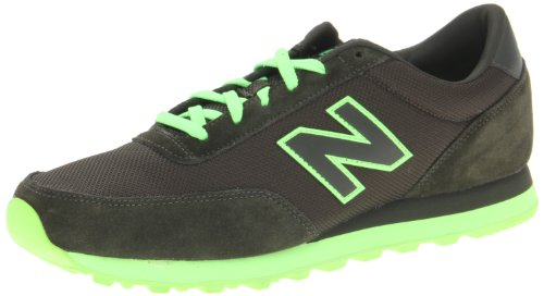 New Balance Men's ML501 Sole Pack Fashion Sneaker,Black/Green,12 D US