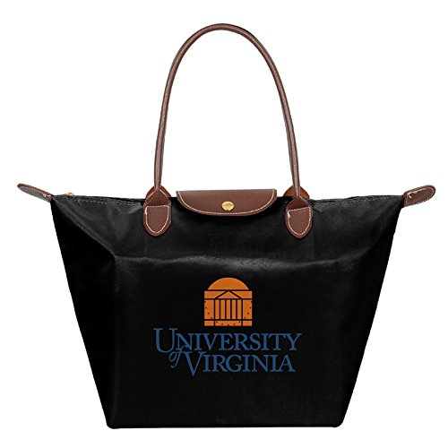 University Of Virginia Charlottesville Waterproof Foldable Tote Bags Shopping Beach Shoulder Handbags Purse Tote Shoulder Bag - Shopping Charlottesville
