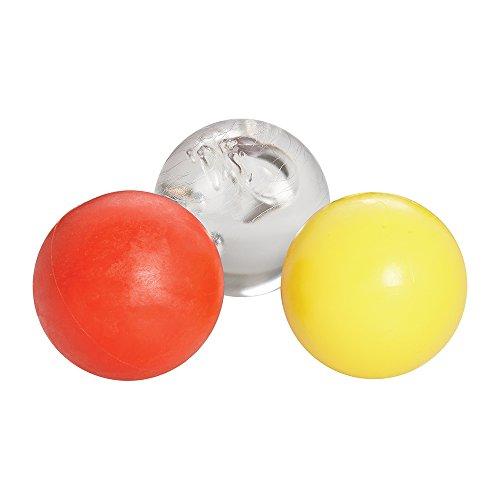 CCM Sniper's Edge Stickhandling Hockey Ball Set – Ice, Skillz, Speed Pack