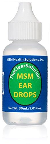 OptiMSM Ear Drops by MSM Health Solutions, Inc  30 ml