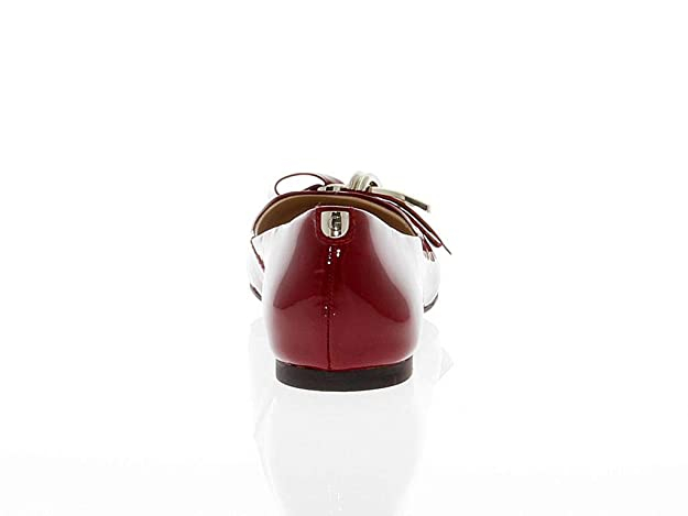 Guess Luxury Fashion Donna GUESSFL4KMN Rosso Ballerine