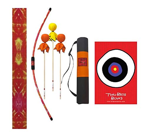 Two Bros Bows Orange Tie-Dye Archery Combo Set -