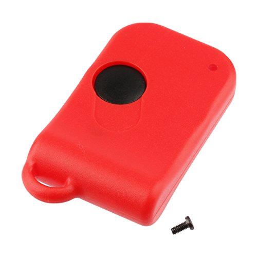 Red Case Shell Key Fob Keyless Entry Remote fits Ferrari 348 355 360 Modena 456 550 575 (LXP RKY 112) (Modena 360 Spider Ferrari)