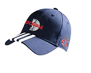 Adidas FC Bayern München Doble 2016Winner Gorra - Azul, One Size Fits Most