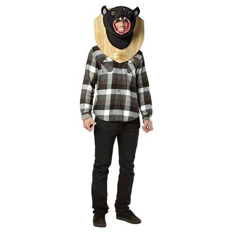 Bear With Me Trophy Costume Mask