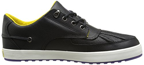 Polo Ralph Lauren Mens Pull Up Grain Ramiro Fashion Sneaker Nero