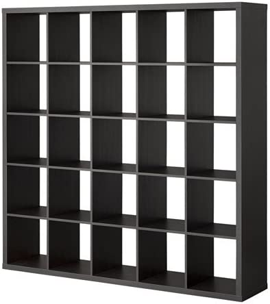 IKEA kallax estantería de colour negro y marrón; (182 x 182 ...