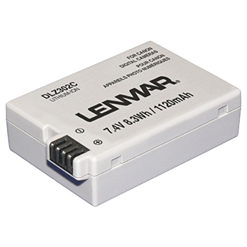 Lenmar Replacement Battery for Canon EOS 550D EOS Kiss X4 EOS Rebel T2i T3i Replaces OEM Canon (Lenmar Canon Replacement Battery)