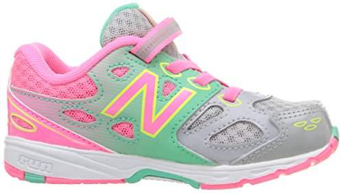 lime infant Grey New Balance Infant Glo Ka680 pink Shoe Running toddler 06wAzqX
