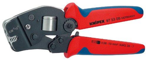 - KNIPEX 97 53 08 Self-Adjusting Crimping Pliers