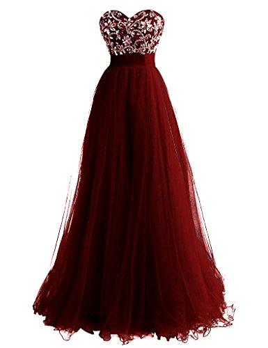 Fanciest Burgundy Kleider Damen Abendkleider 2016 Chiffon Beaded Kleider Green Formelle Ball rqrvRCfnw