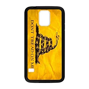 Personalized Don't Tread On Me Durable Rubber TPU Laser Technology Back Case For Samsung Galaxy S5