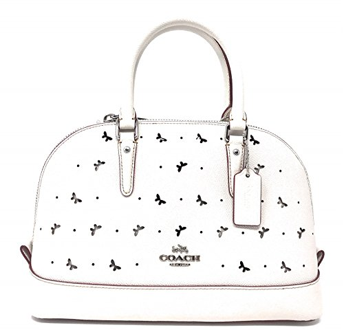 Coach Perforated Leather Bag - 9
