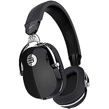 Over Ear Wired Headphones, Arrela Professional HiFi Stereo Headpset Built-in Mic, Deep Bass, Foldable/Soft Earmuffs for Studio Monitoring, DJ Home Entertainment Black