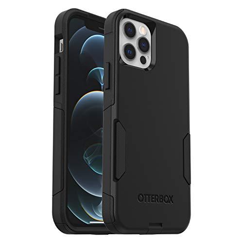 OtterBox Commuter funda anticaídas para Apple iPhone 12/12 Pro Negra, sin embalaje