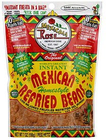 Mexicali Rose Instant Homestyle Refried Beans 7oz (Pack of 3)