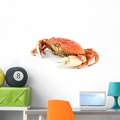 Wallmonkeys Dungeness Crab Wall Decal Peel and Stick Graphic (36 in W x 24 in H) ()