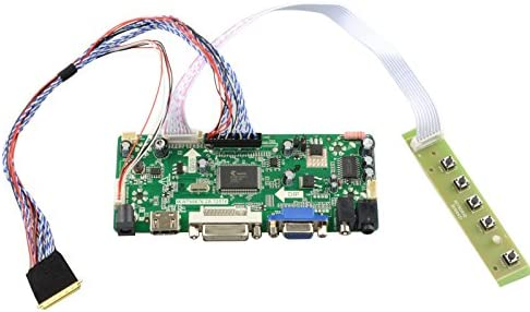 VGA DVI LCD  Controller board lvds Kit for LED Panel B173RW01 V.3 HDMI