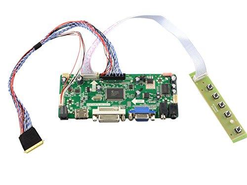 NJYTouch M.NT68676.2A HDMI DVI VGA AUDIO LCD Controller Board for B173RW01 V0 B173RW01 V1 B173RW01 V3 1600x900