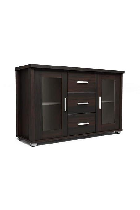 Godrej Interio Expo Display Cabinet Matte Finish Walnut Amazon