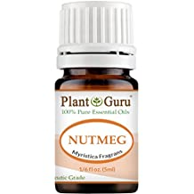 Nutmeg Essential Oil 5 ml. 100% Pure Undiluted Therapeutic Grade. Sample Size