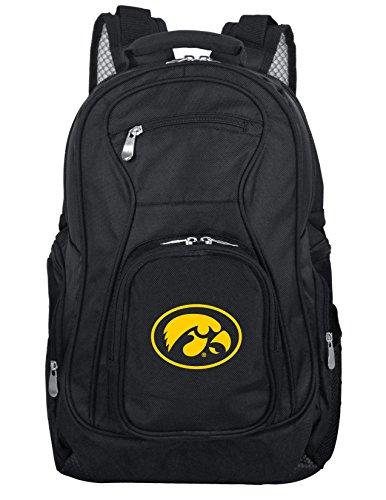 - Denco NCAA Iowa Hawkeyes Voyager Laptop Backpack, 19-inches, Black