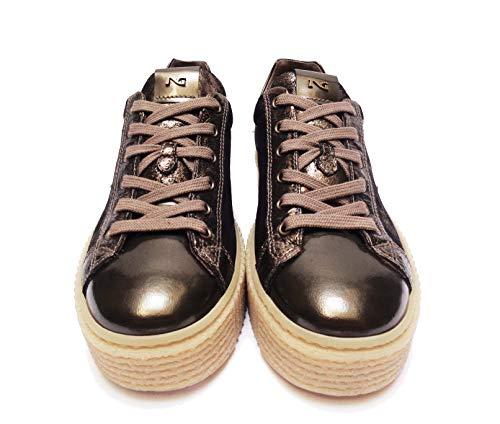 Giardini De Zapatos Cordones Nero Mujer Para xOp6xfw