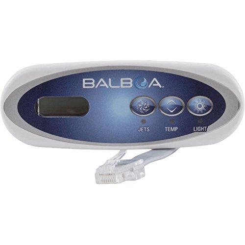 Tub Hot Control Panel (Balboa BB52487 VL200, 3 button LCD Topside Control w/Indicator Lights)