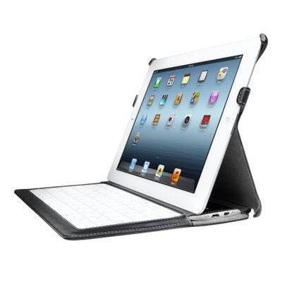 Kensington KeyLite Ultra Slim Touch Keyboard Folio For iPad 4 with Retina Display, iPad 3 and iPad 2 (K39598US) by Kensington