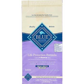 Blue Buffalo Dry Food for Small Breed Dogs, Natural Fish and Brown Rice Recipe, 15-Pound Bag, My Pet Supplies