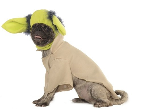 Rubie's Star Wars Collection Pet Costume, X-Large, Yoda -