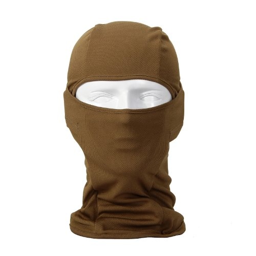 Bandana Lightweight Face Mask Balaclava Outdoor Sport Cycling Neck Gaiter (sand)