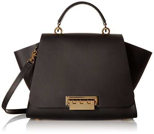 ZAC Zac Posen Eartha Iconic Soft Top Handle Bag, Black by ZAC Zac Posen