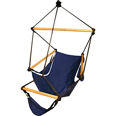 Hammaka Cradle Chair - Blue : Hammocks : Garden & Outdoor