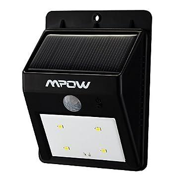 Mpow® Luci Solari Lampada Wireless ad Energia Solare da Esterno ...