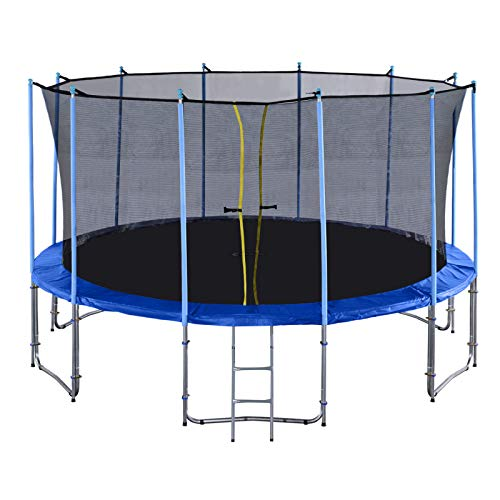 Exacme 16' Ft 6W Legs Trampoline w/Safety Pad and Enclosure for sale  Delivered anywhere in USA