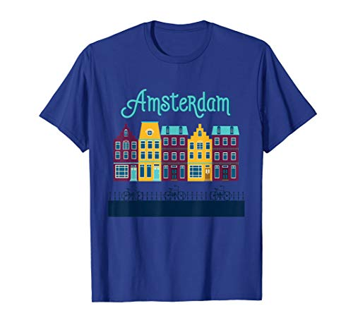 Amsterdam Netherlands - Holland Dutch Bicycle Europe T-Shirt