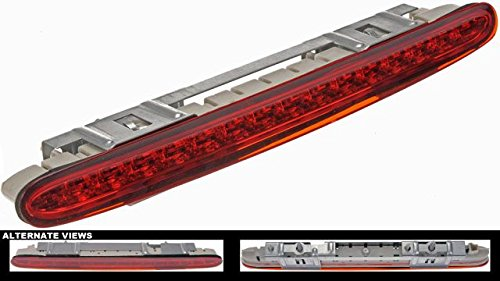 APDTY 119806 Third 3rd High Center Mount Brake Light Lamp Fits 2003-2006 Mercedes SL500 2007-2012 SL550 2007-2009 SL600 (Upgraded LED Bulb Design; Replaces 2308200656, 2308200856)