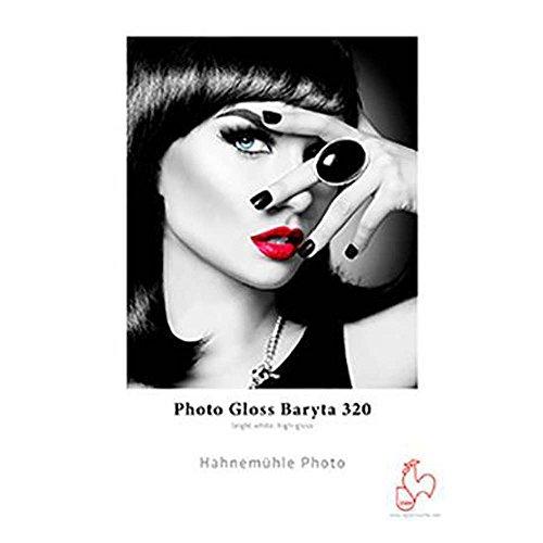 Hahnemuhle Photo Gloss Baryta 320gsm, 25 Sheets - 8.5