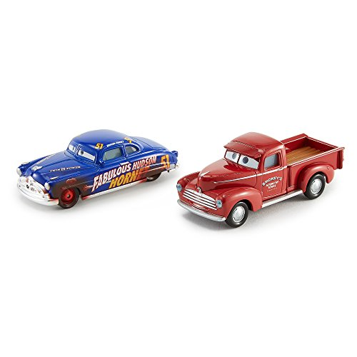 Disney/Pixar Cars 3 Young Smokey & Hudson Hornet Die-Cast Vehicles, 2-Pack