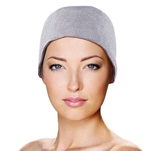 Migraine Gel Full Head Coverage Ice Hat by FOMI Care | Cranial Cold Cap | Top and Side Skull Cooling Headache and Chemo Recovery Pack | Wearable Therapy Wrap for ()