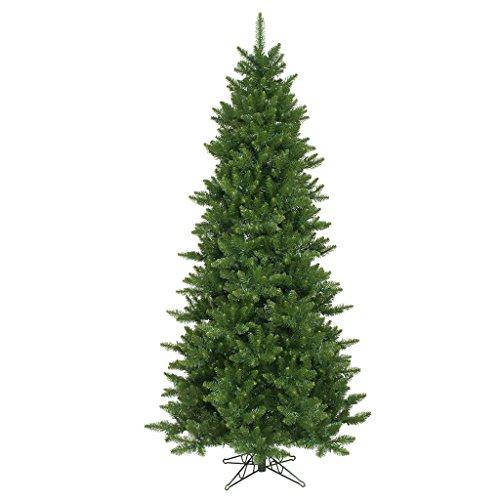 Vickerman Camdon Fir Slim Tree with 2350 Tips, 9.5-Feet by 54-Inch (Slim Unlit Artificial Christmas Trees)
