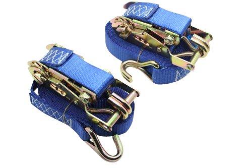 bleu Sangles darrimage pour le chargement de remorque DiversityWrap 1,5 T Sangles /à cliquet