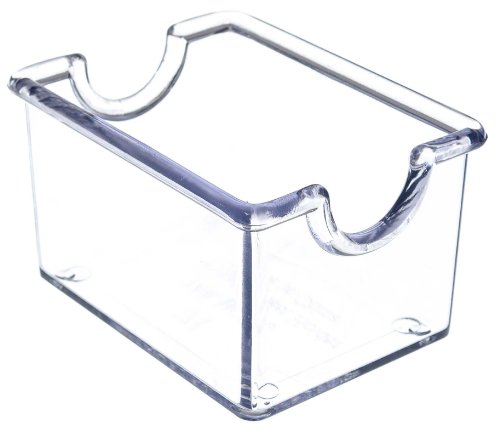 Thunder Group PLSP032CL Sugar Packet Holder, Clear, Pack of 12