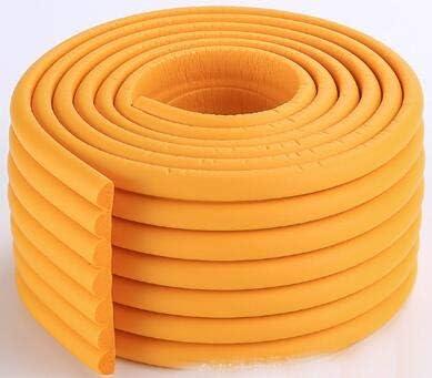 parachoques 2 m barra de colisi/ón beige esquinas iFCOW Protector de bordes protector de mesa para ni/ños para muebles