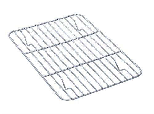 TeamFar Toaster Oven Tray and Rack Set, Stainless Steel Toaster Oven Pan Broiler Pan, Compact 7''x9''x1'', Non Toxic & Healthy, Easy Clean & Dishwasher Safe by TeamFar (Image #4)