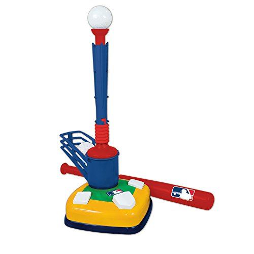 Franklin Sports MLB Super Star Batter 2-in-1 Tee and Pop-Up Baseball Training Aid (Franklin 1)