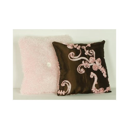 Cotton Tale Designs 2 Piece Pillow Pack, Cupcake