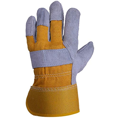 AINIYF Gloves High Temperature Stove Long Lined Work safety gloves, gardening barbecue Welders Gauntlets (Size : 8 pairs) by AINIYF (Image #3)